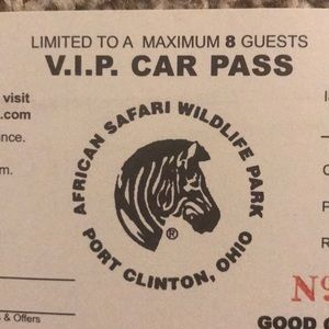 Other - VIP Pass African Safari Wildlife Park